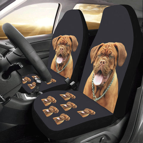 Dogue de Bordeaux Car Seat Covers (set of 2)