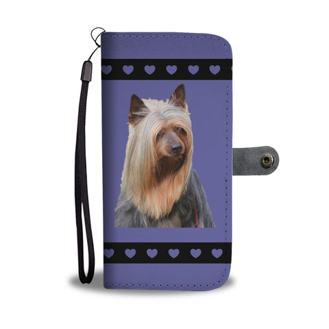 Australian Silky Terrier Phone Case Wallet