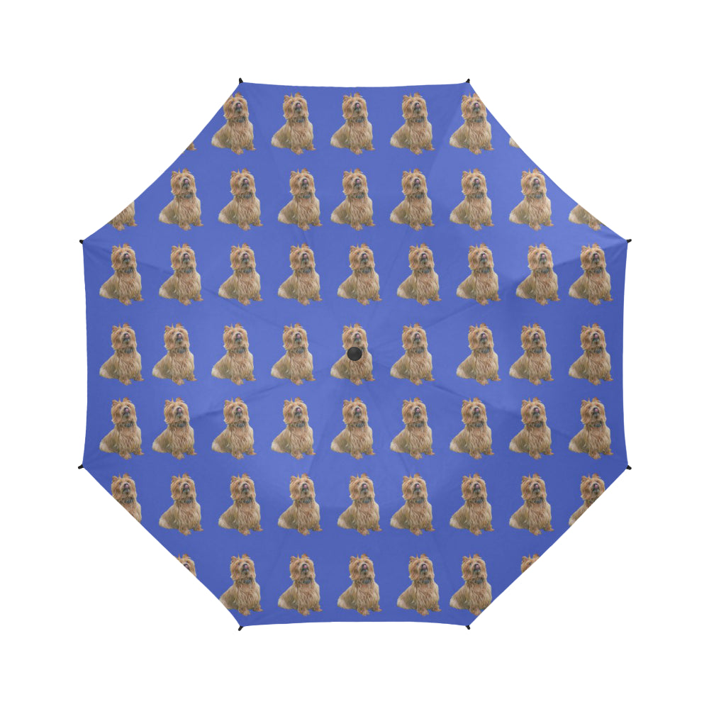 Australian Terrier Umbrella - Semi Automatic