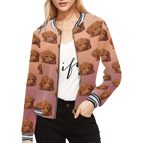Brown Poodle Jacket