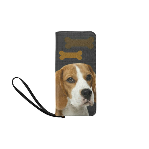 Beagle Clutch Wallet