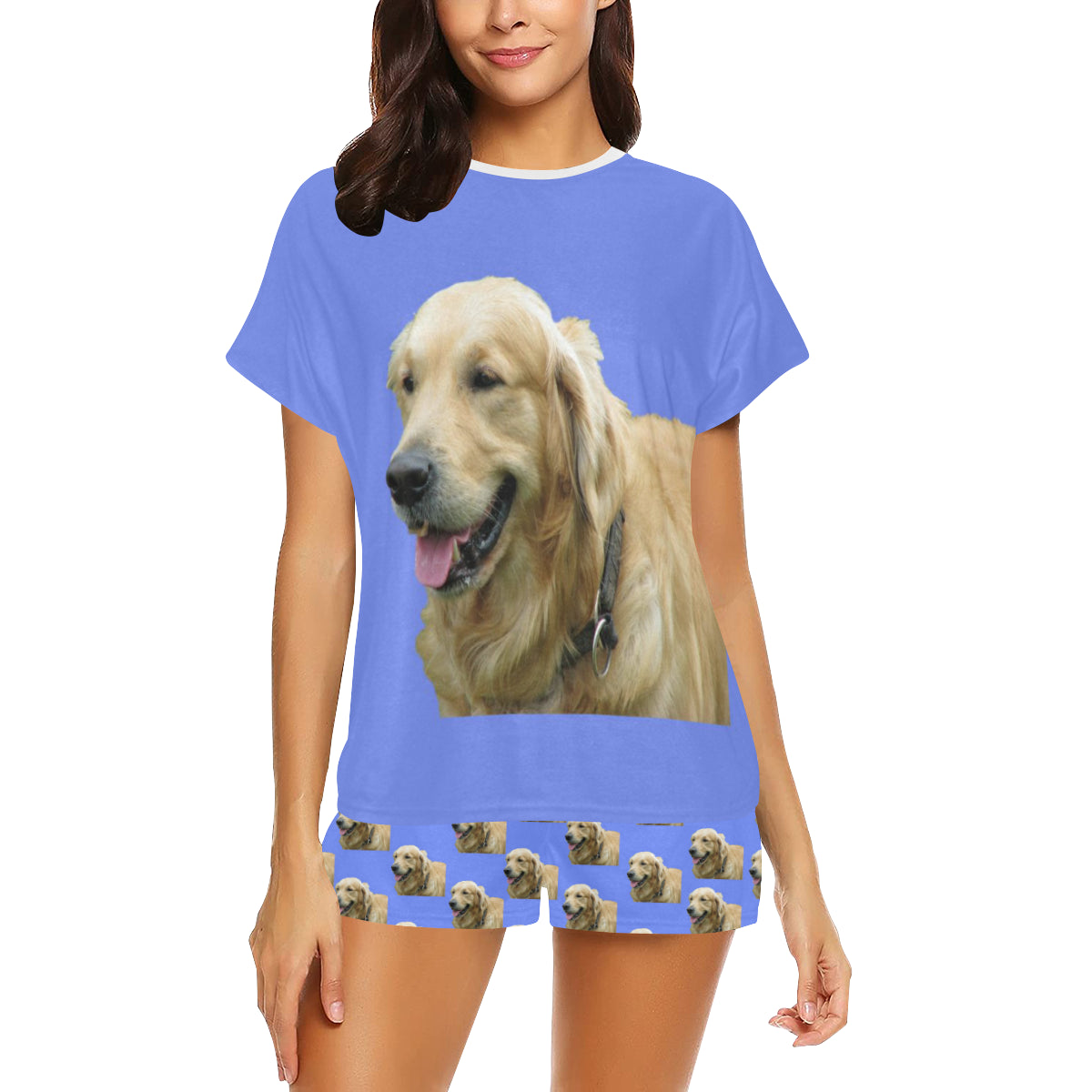 2 Piece Golden Retriever PJ Set