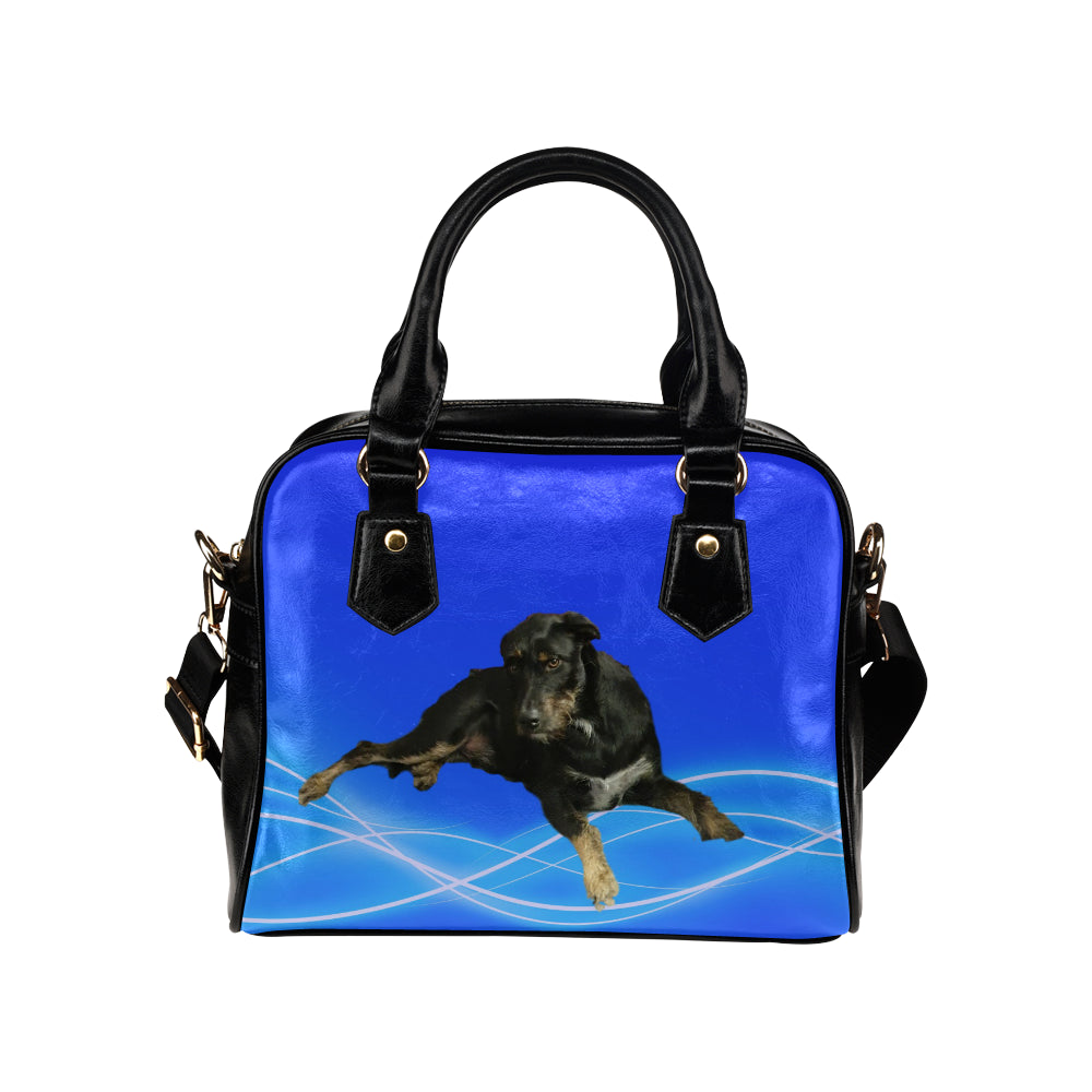 Irish Wolfhound/Kelpie Mix Shoulder Bag