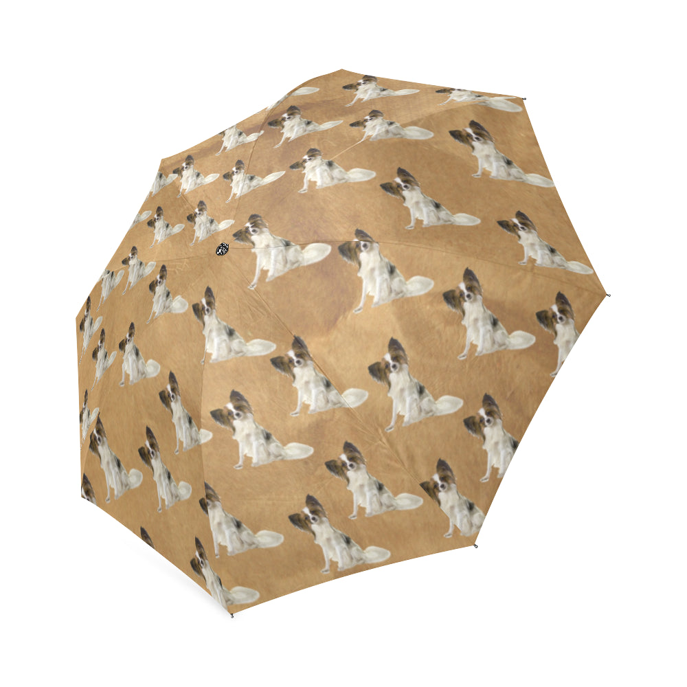 Papillon Umbrella - Tan