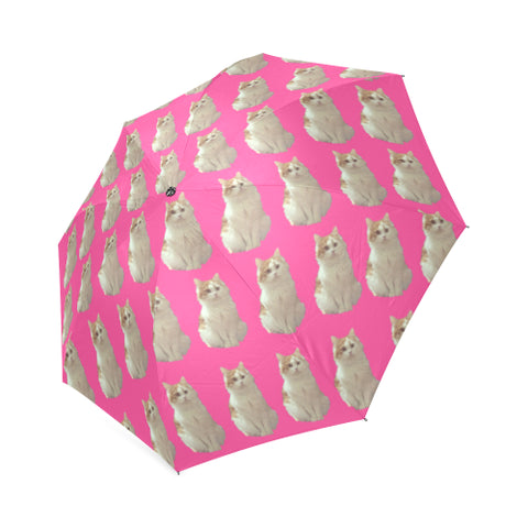 Cat Umbrella - Pink