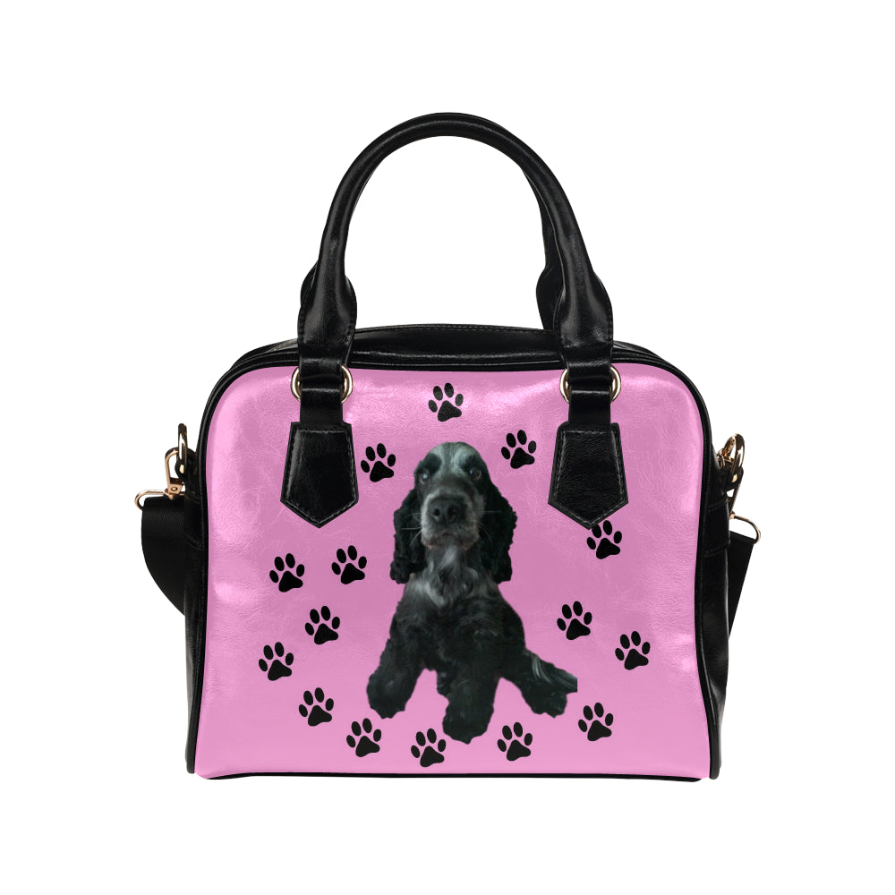 Blue Roan Cocker Spaniel Shoulder Bag - Bella
