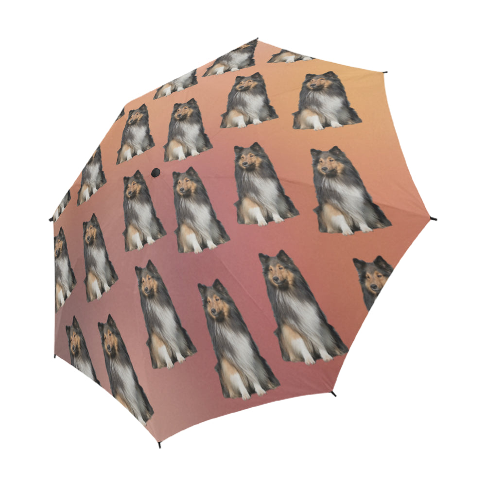 Sheltie Umbrella - Semi Auto