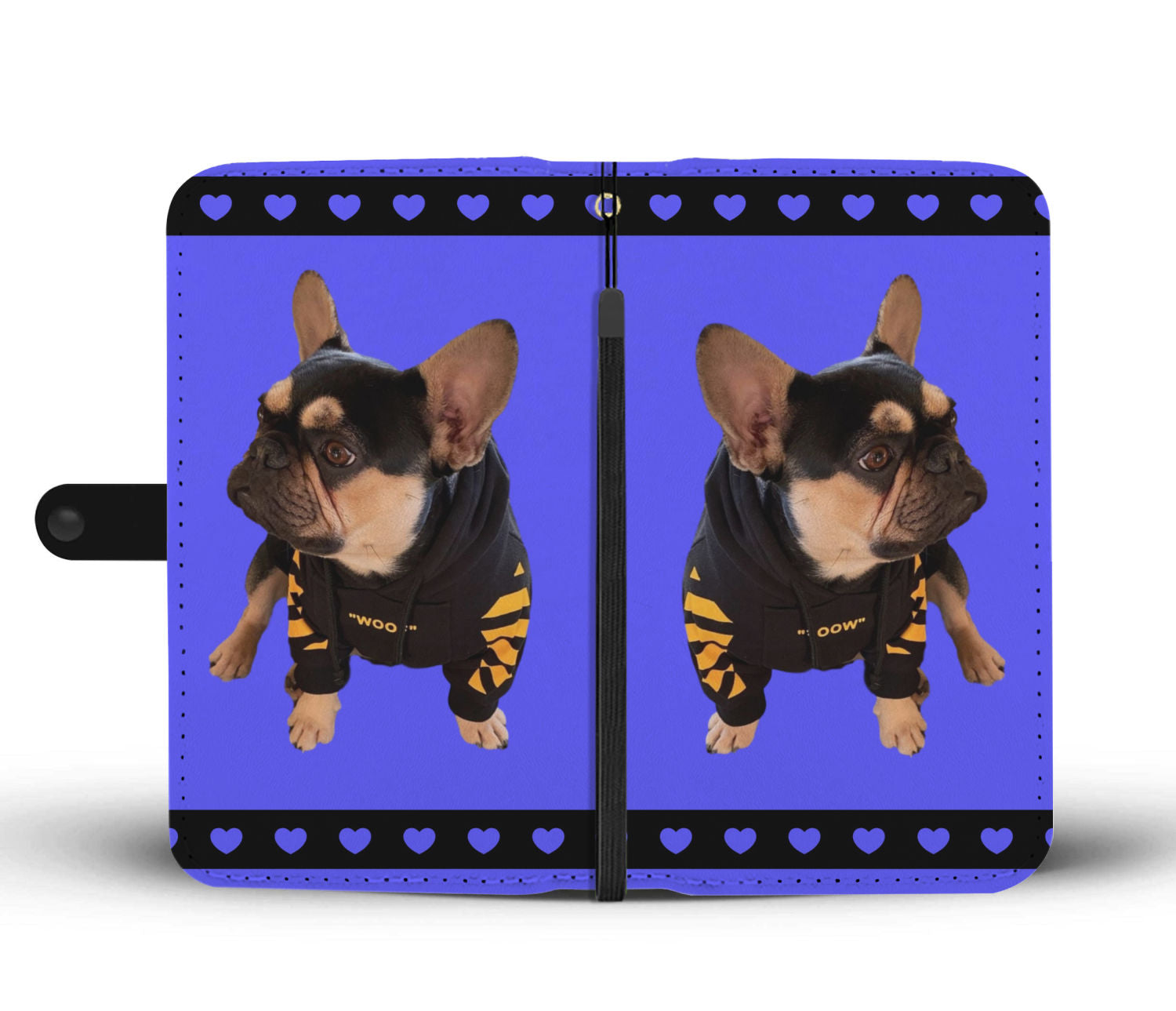 Carol's French Bulldog Phone Case Wallet