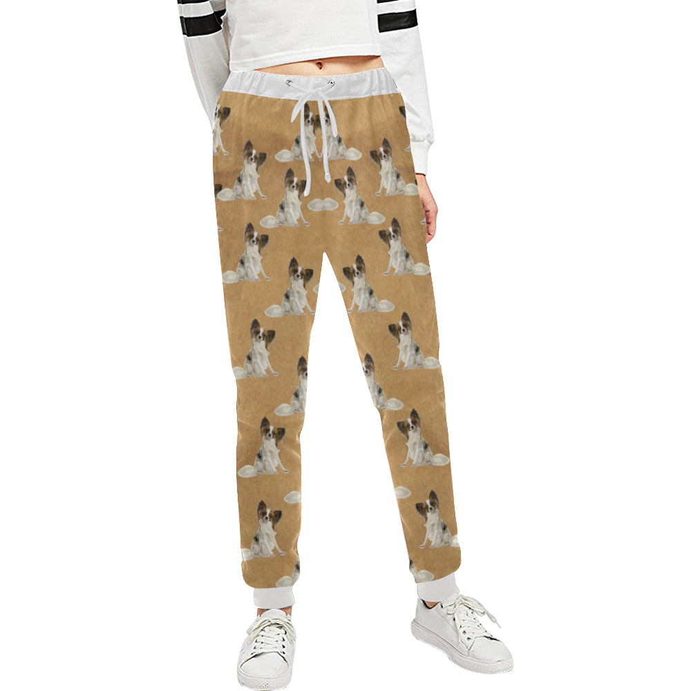 Papillon Sweatpants - Tan