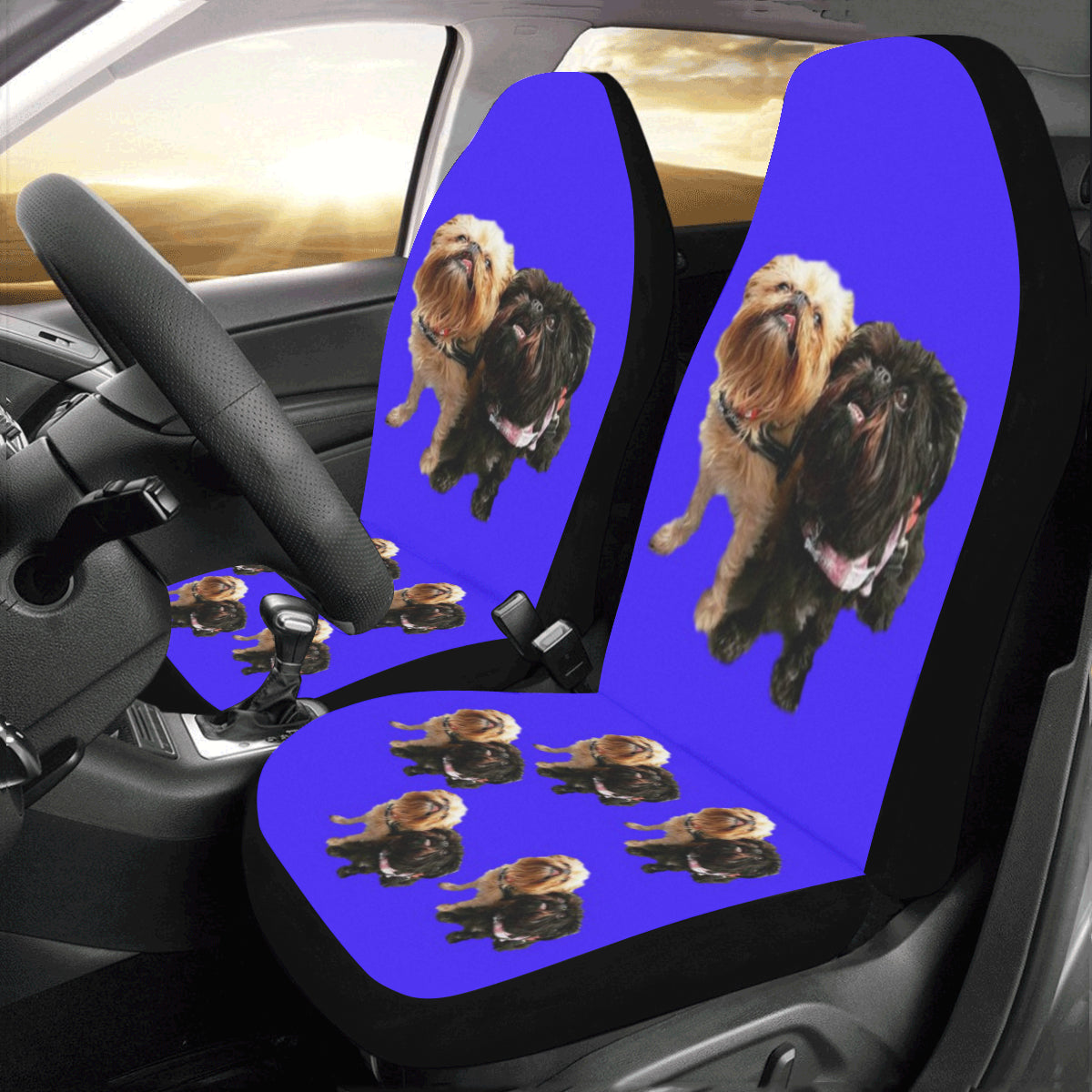Brussels Griffon Car Seat Covers (Set of 2)
