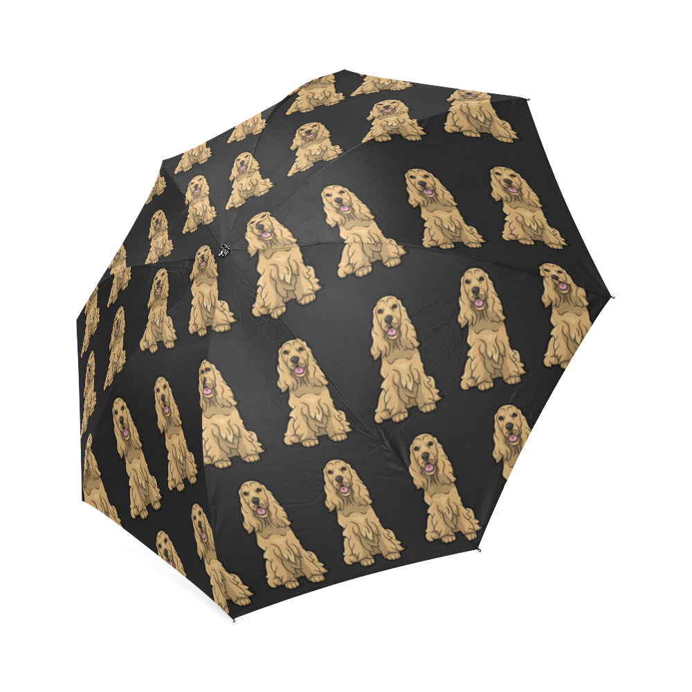 Cocker Spaniel Umbrella - Cartoon American