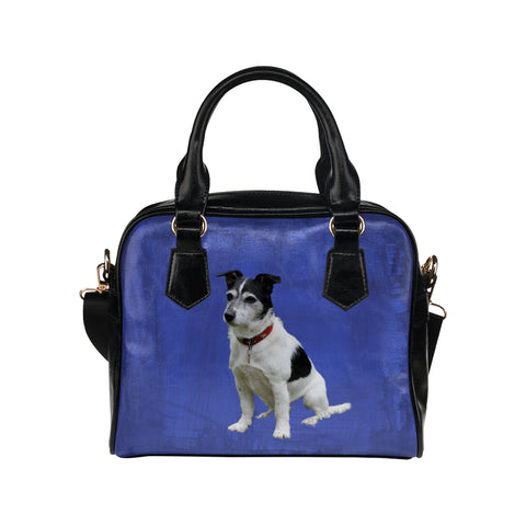 Jack Russell Terrier Shoulder Bag - Blue