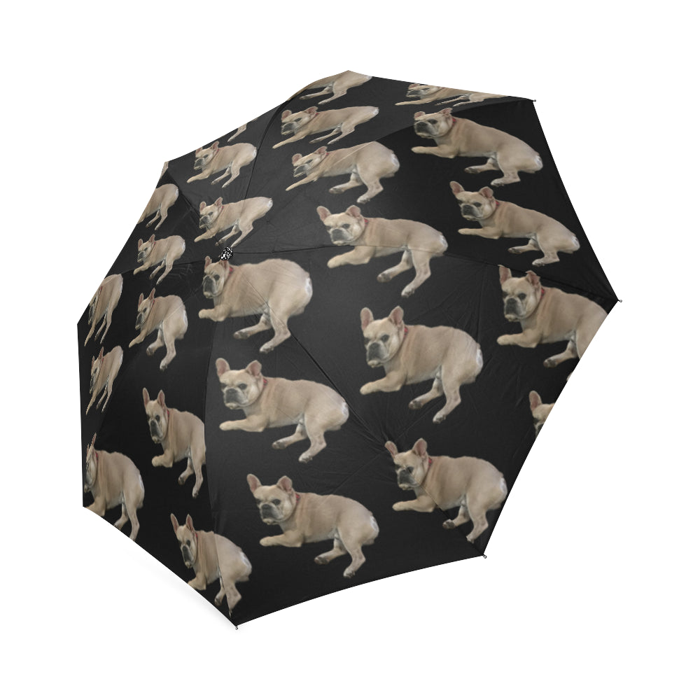 French Bulldog Umbrella - Black