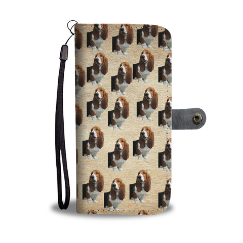 Basset Hound Phone Case Wallet