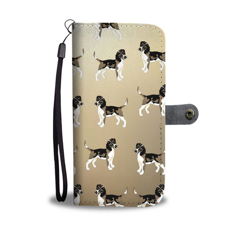 Beagle Phone Case Wallet