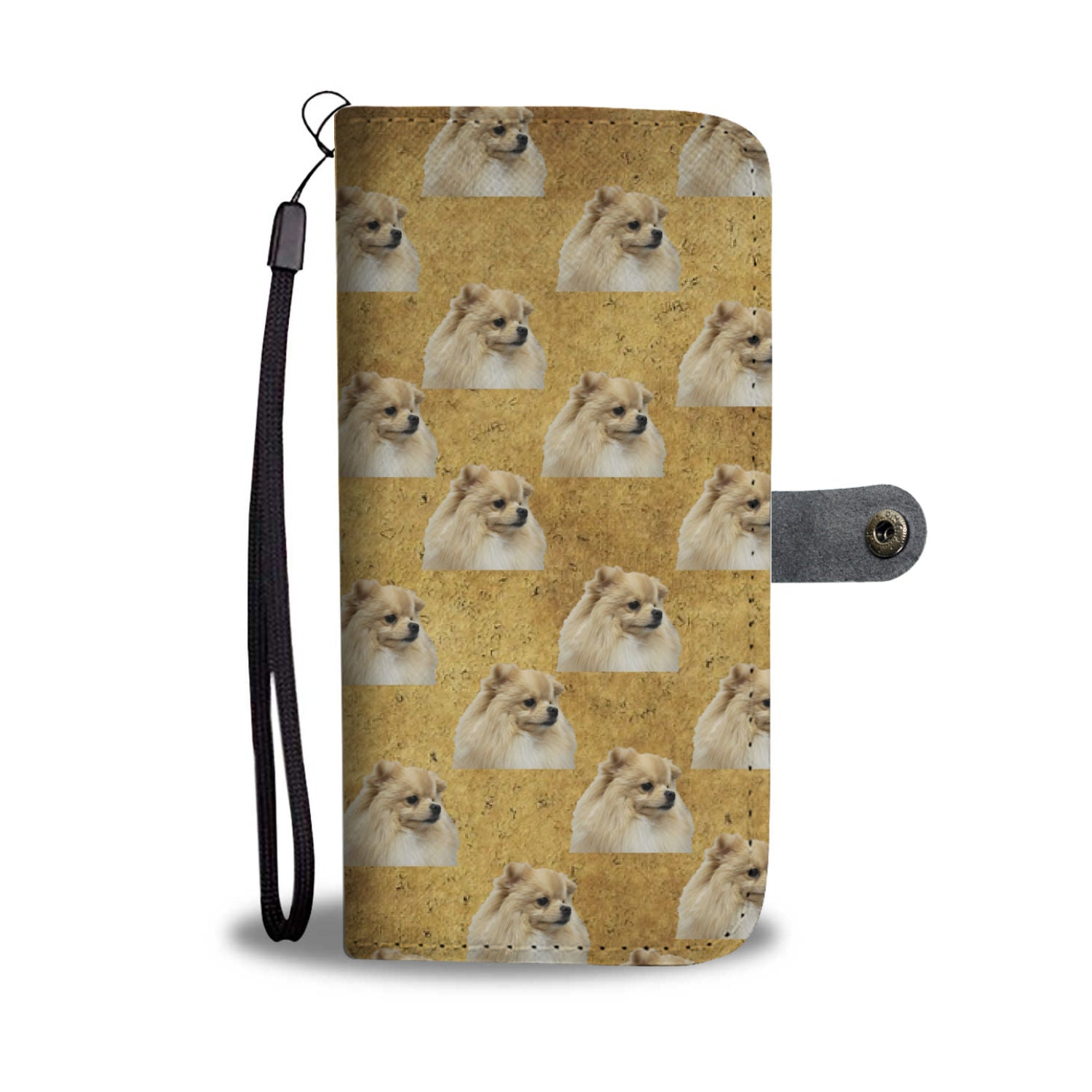 Pomeranian Phone Case Wallet