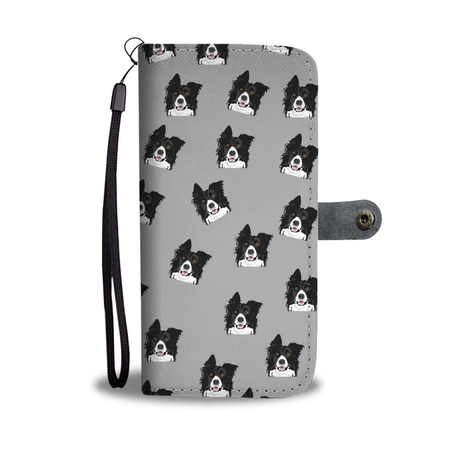 Border Collie Phone Case Wallet