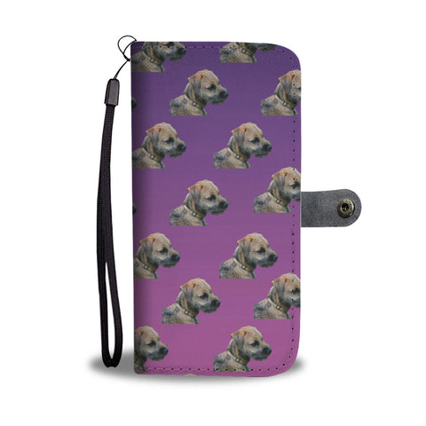 Border Terrier Phone Case Wallet