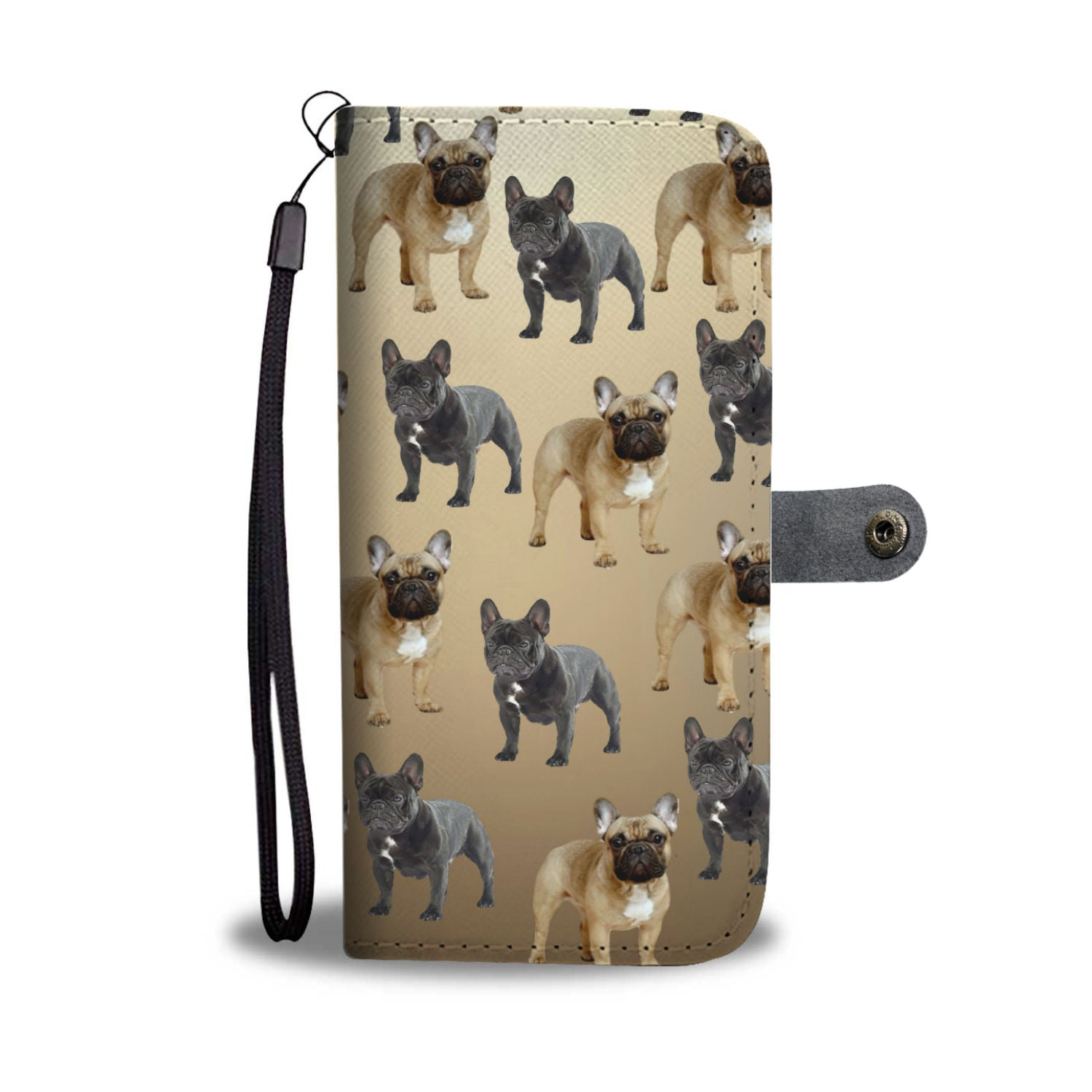 French Bulldog Phone Case Wallet