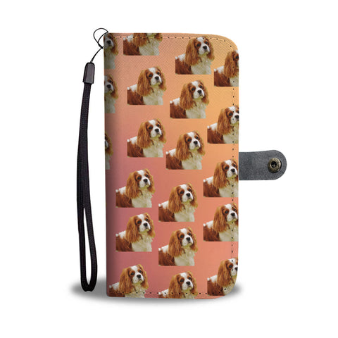 Cavalier King Charles Spaniel Phone Case Wallet