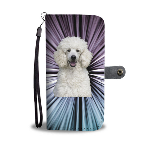 Poodle Phone Case Wallet