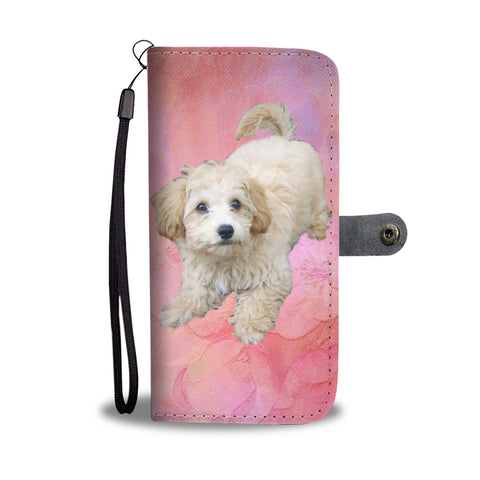 Maltipoo Phone Case Wallet