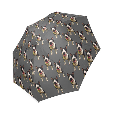 Bull Terrier Umbrella - Grey