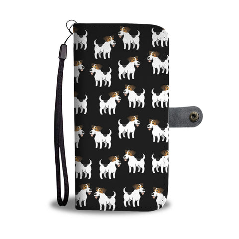Jack Russell Phone Case Wallet - Cartoon