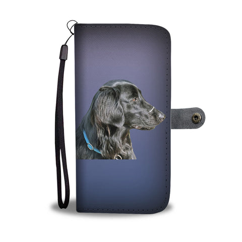 Flat Coat Retriever Phone Case Wallet