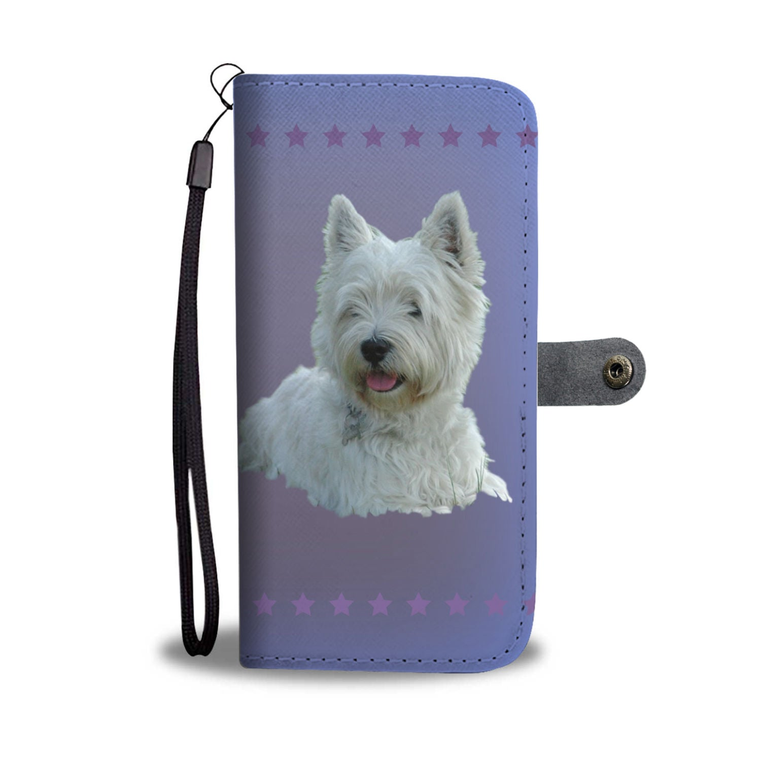 Westie Phone Case Wallet