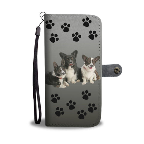 Corgi Cardigan Corgi Phone Case Wallet