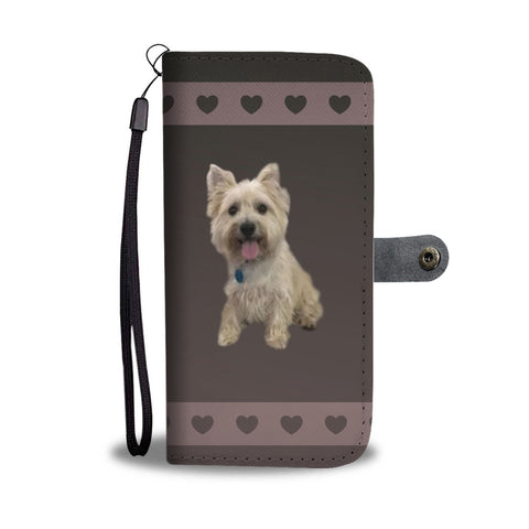 Cairn Terrier Phone Case Wallet
