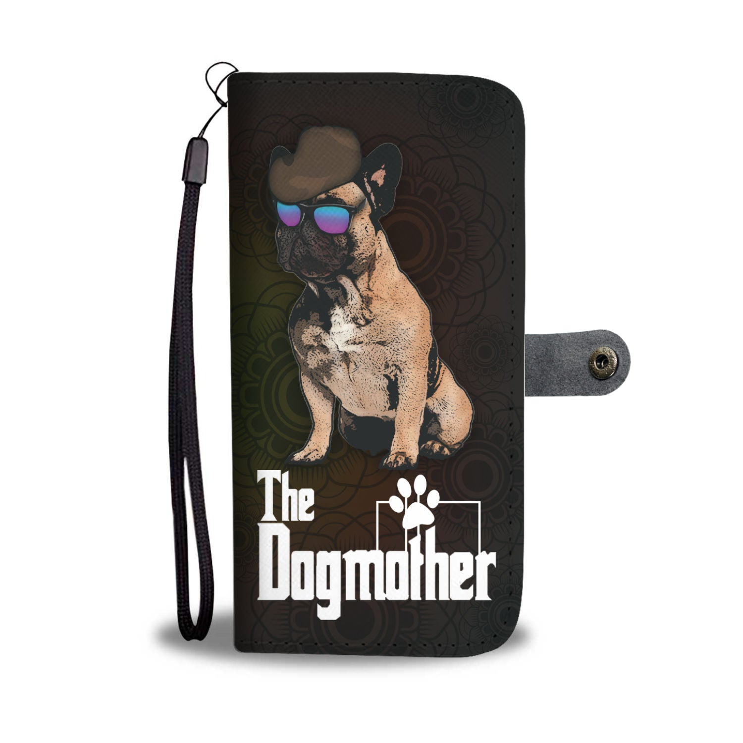 French Bulldog Dogmother Phone Case Wallet 1
