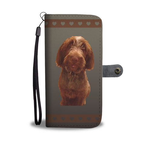 Spinone Italiano Phone Case Wallet