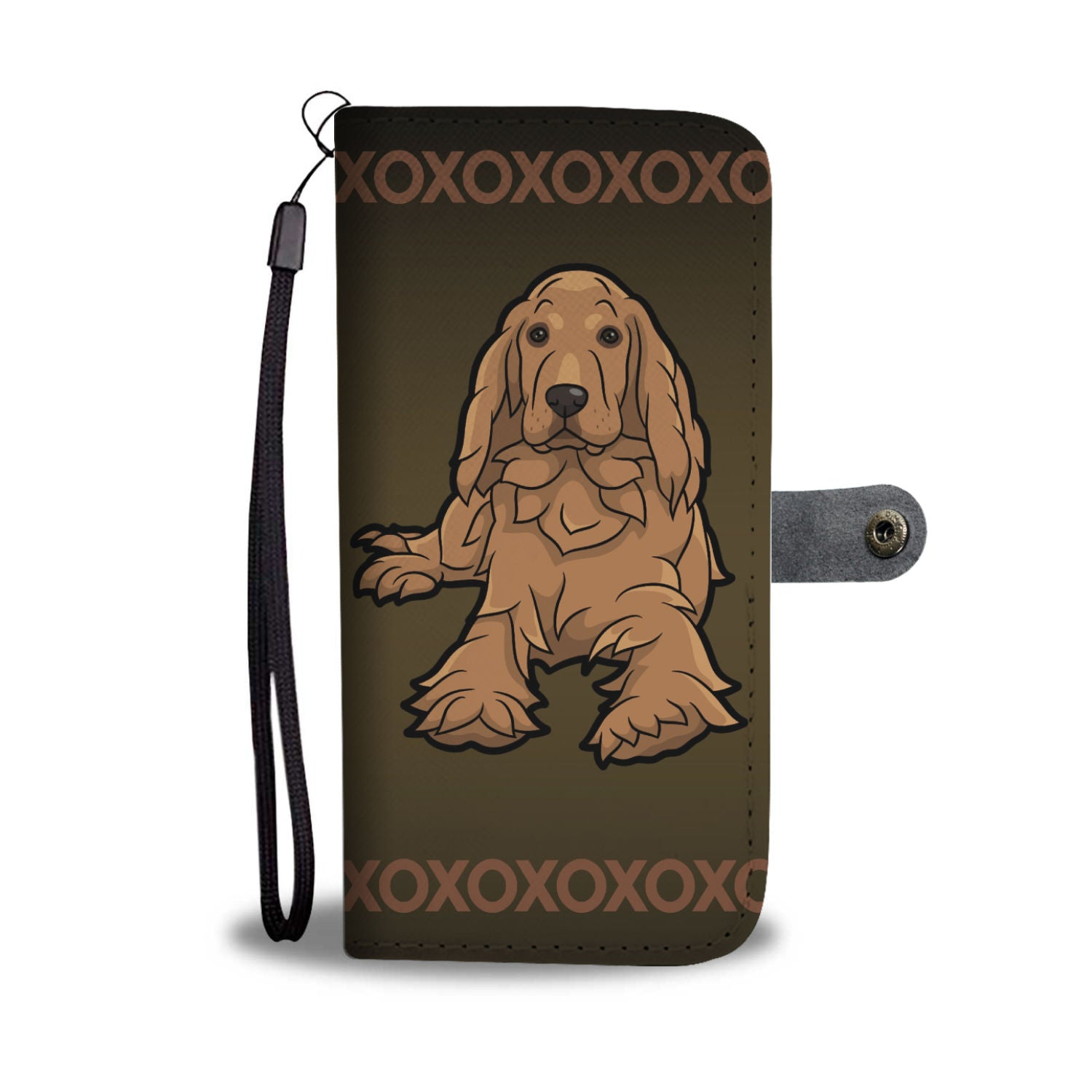 Cocker Spaniel Phone Case Wallet
