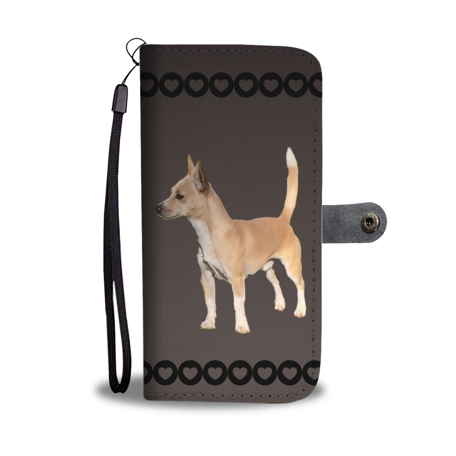 Portuguese Podengo Small Smooth-Haired Phone Case Wallet