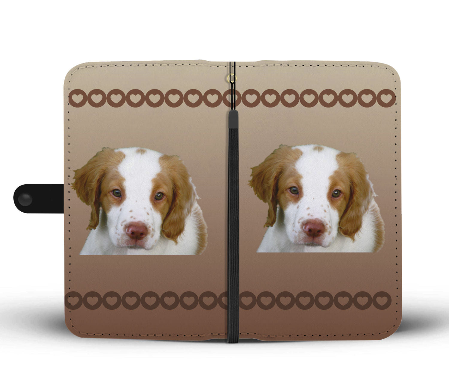 Brittany Spaniel Phone Case Wallet