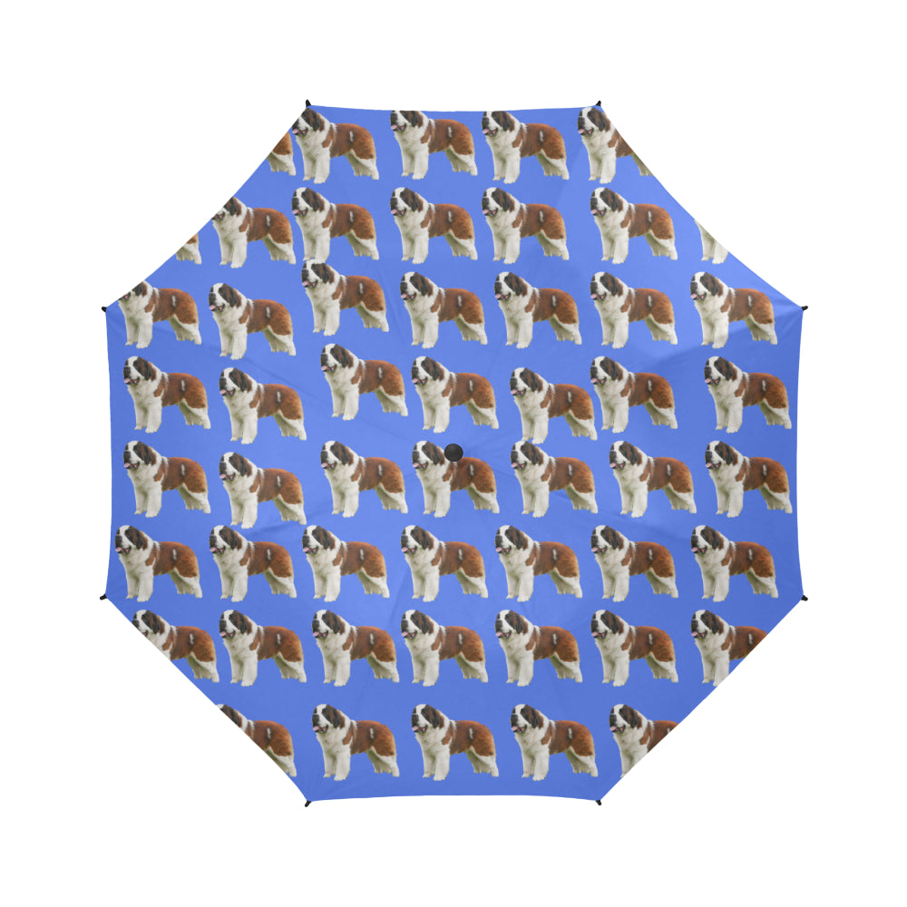 St Bernard Umbrella - Blue
