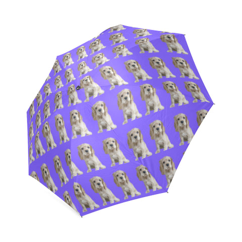 Cocker Spaniel Umbrella - Blonde