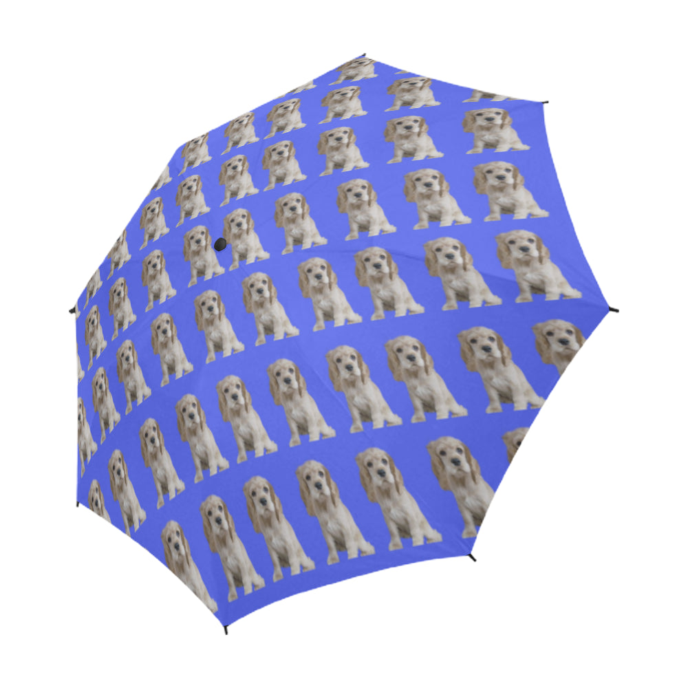 Cocker Spaniel Umbrella - Blue
