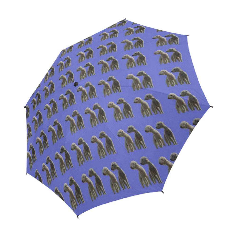 Bedlington Terrier Umbrella 2 - Semi Auto