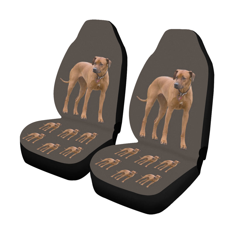 Rhodesian Ridgeback Car Seat Covers (Set of 2) - Standing