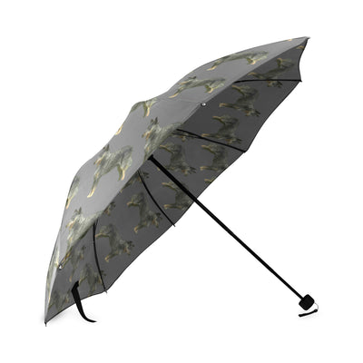 Australian Cattle Dog Umbrella - Grey