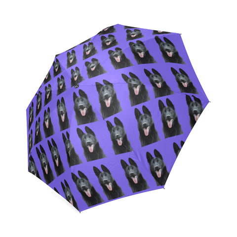 German Shepherd Umbrella - Black
