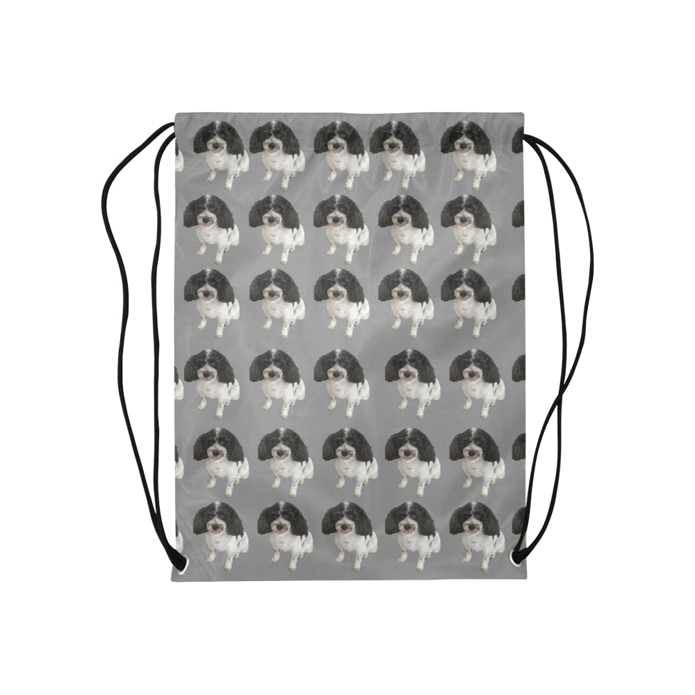 Cavapoo Drawstring Bag