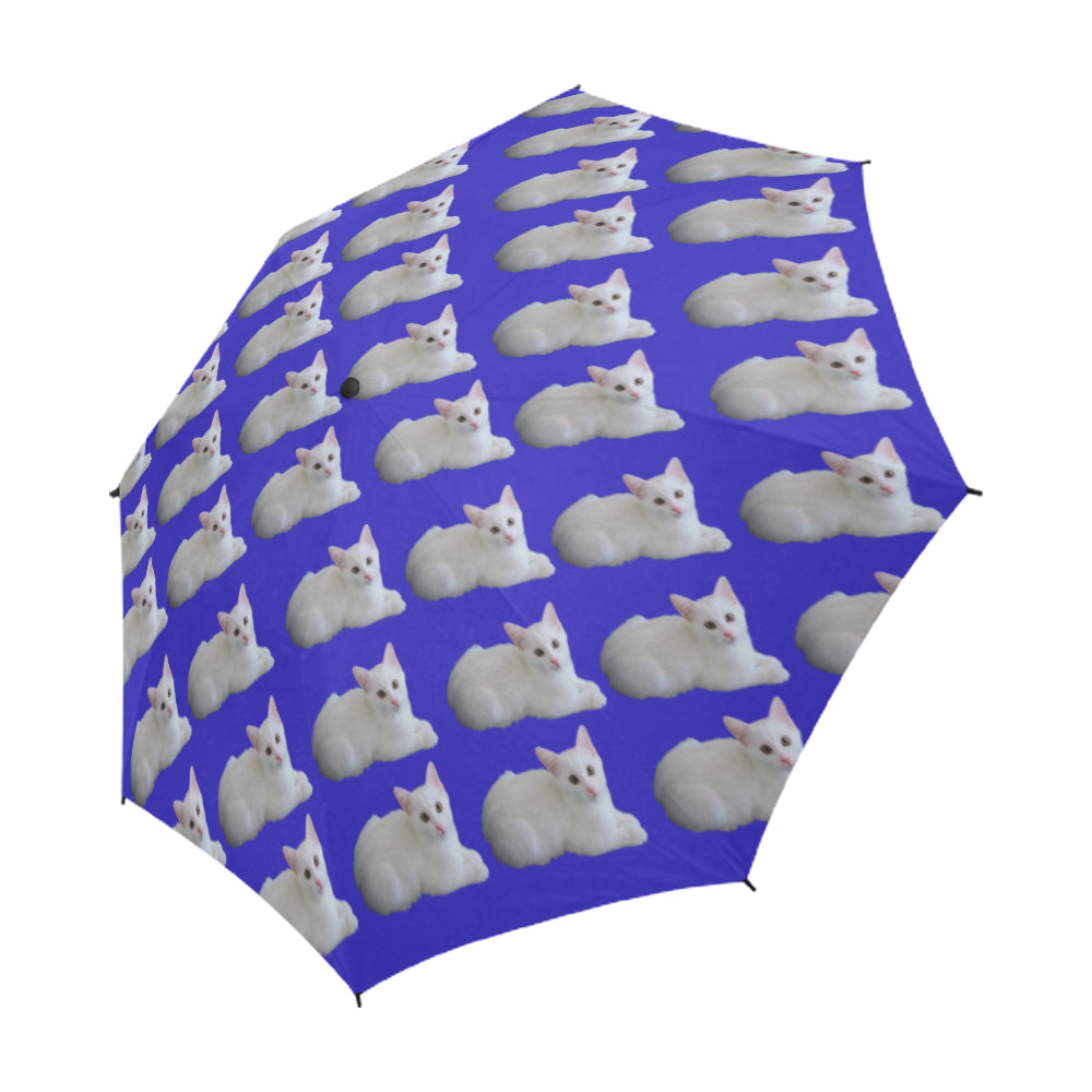 Cat Umbrella - White