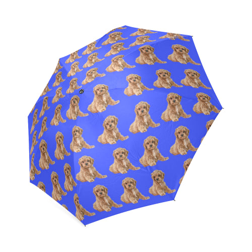 Cavapoo Umbrella - tan