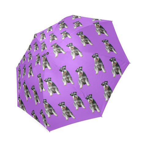 Schnauzer Umbrella - Purple