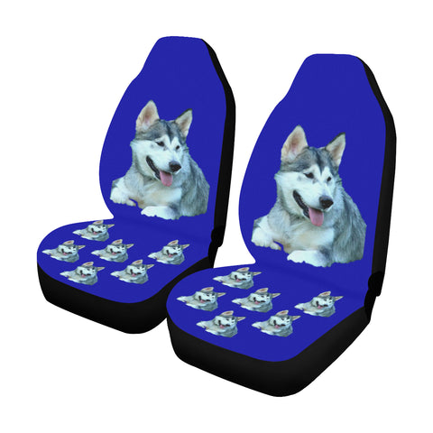 Alaskan Malamute Car Seat Covers (Set of 2)