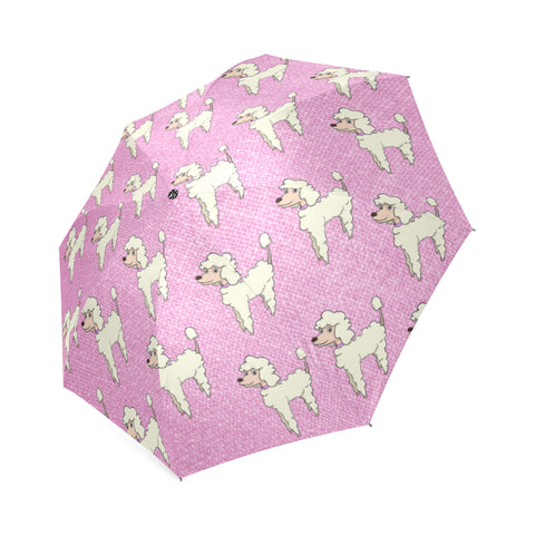 Cartoon Poodle Umbrella